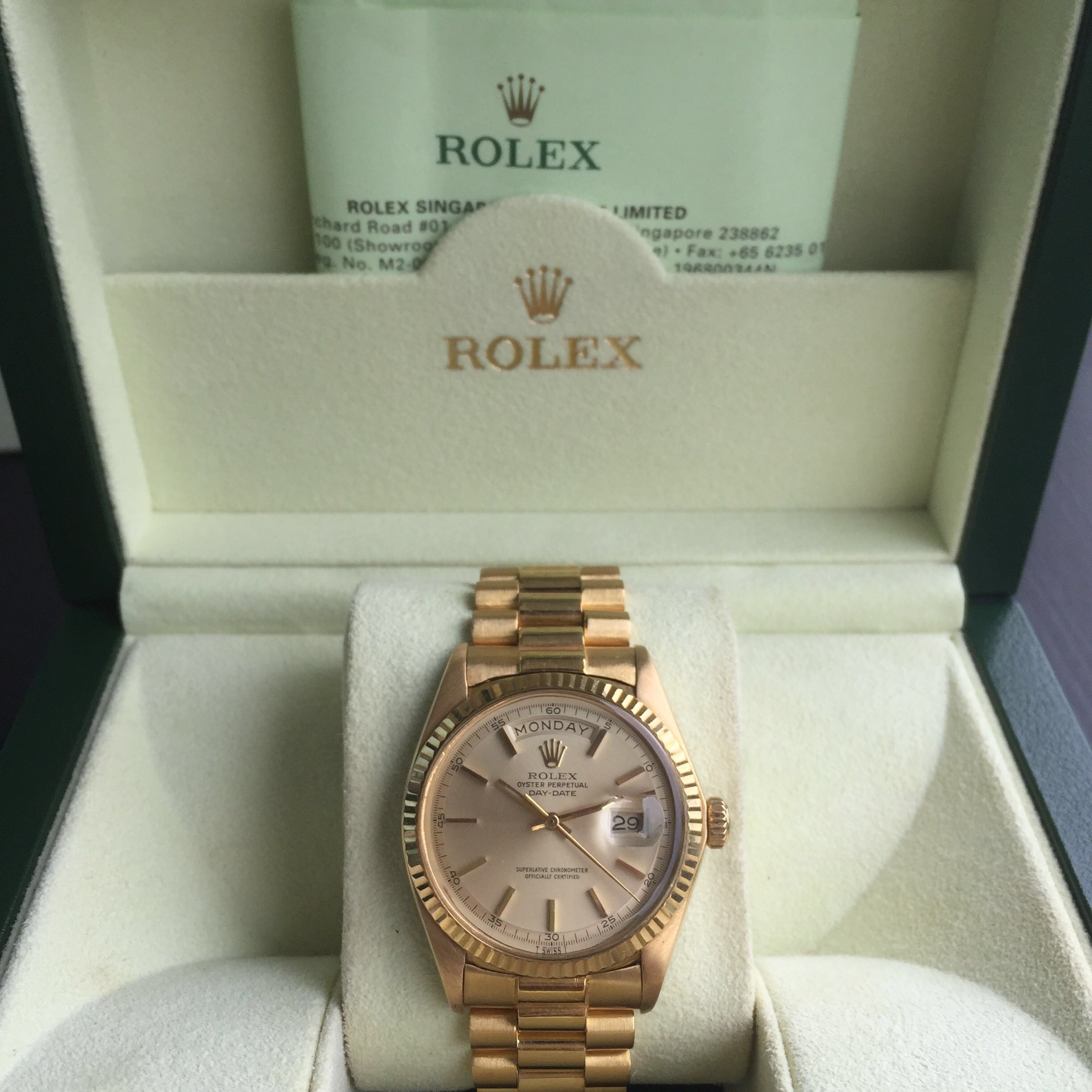 1b459ff9664 Rolex Day Date, Luxury, Watches on Carousell