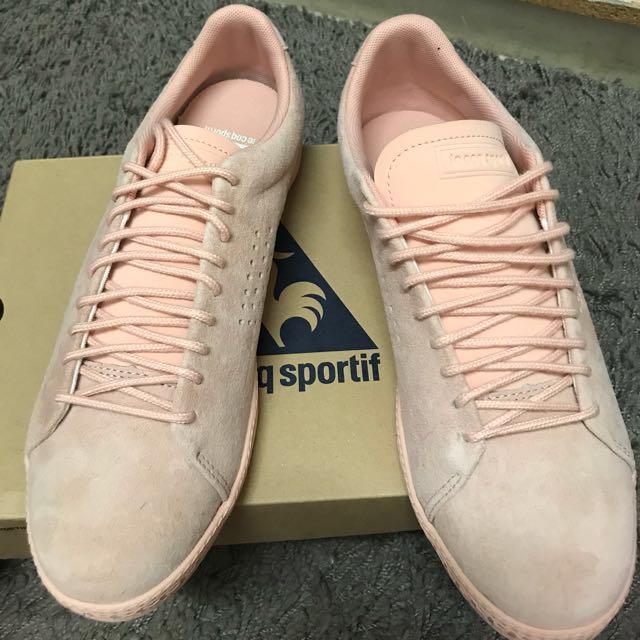 Rose Cloud Charline Nubuck Sneakers