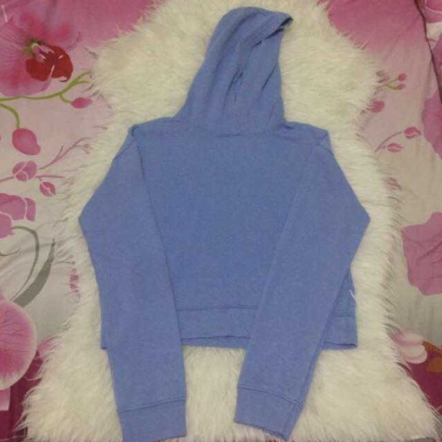SALE‼️Cropped hoodie blue