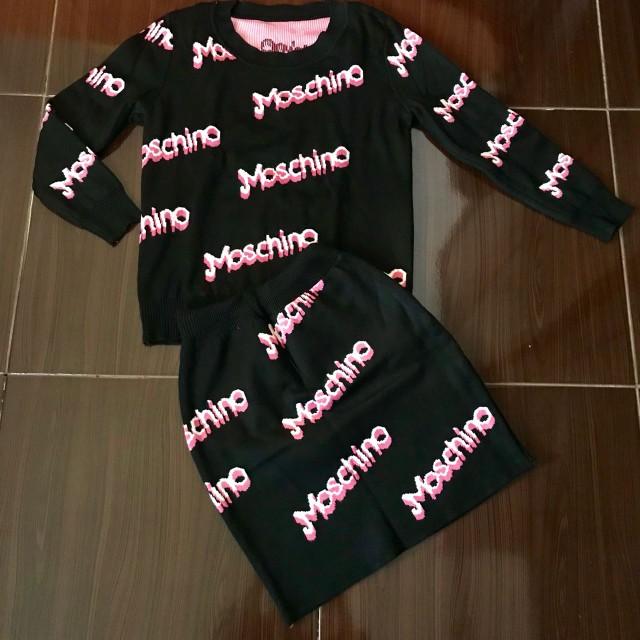 Set Moschino Black