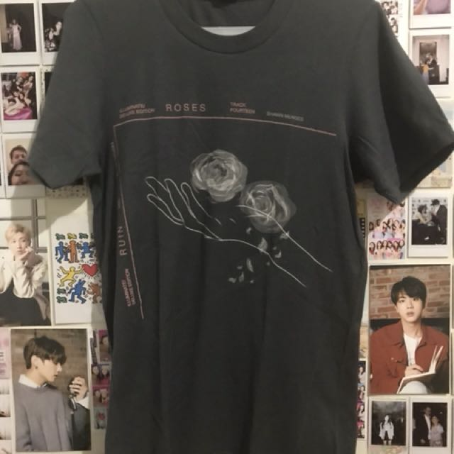 6dd7565d5 shawn mendes official t-shirt, Women's Fashion, Clothes on Carousell
