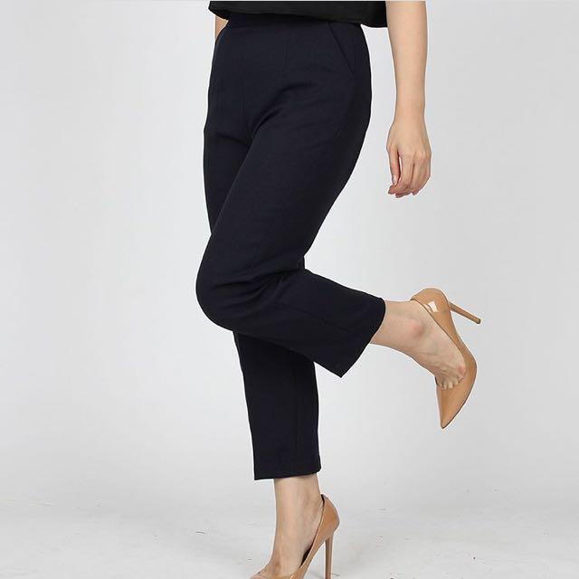 Slim Pants (Navy)