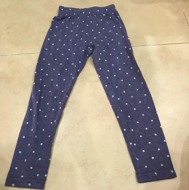 Star leggings size 18-24M