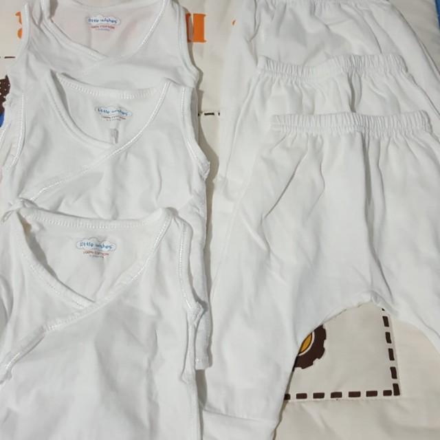 Tie side sleeveless and pyjamas set