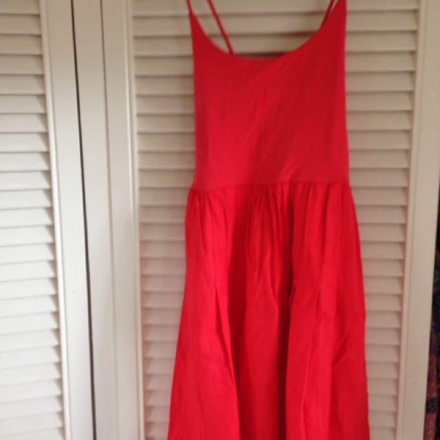 Tigerlily red dress