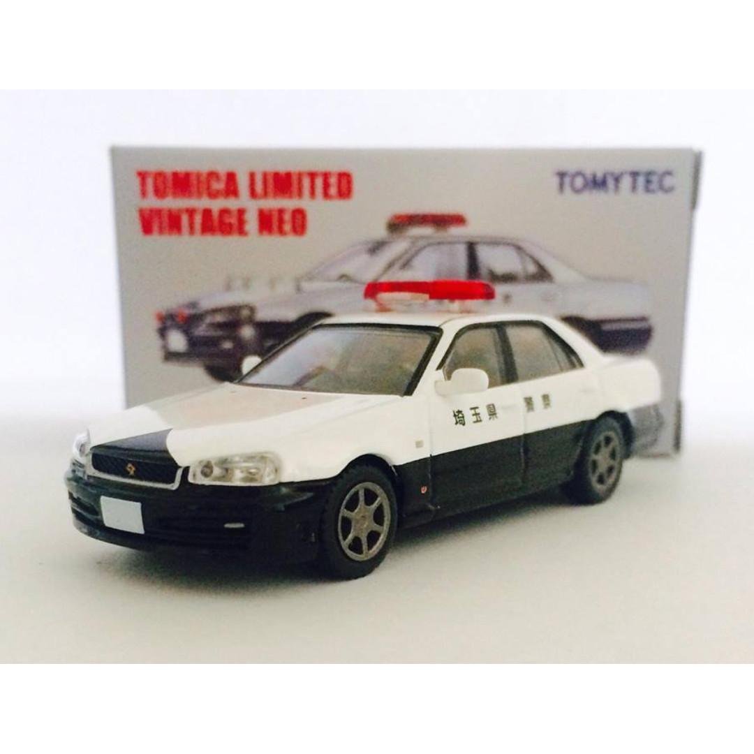 TOMYTEC TOMICA LIMITED VINTAGE NEO LV-N127a NISSAN SKYLINE GT-R 25GT TURBO - RARE