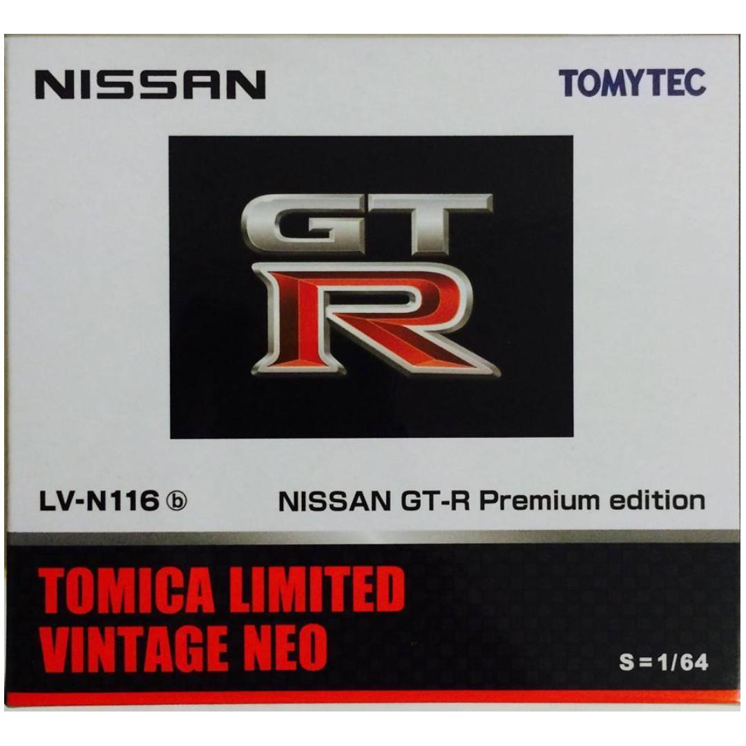 TOMYTEC TOMICA LIMITED VINTAGE NEO LV-N 116b NISSAN GT-R SKYLINE (R35) PREMIUM