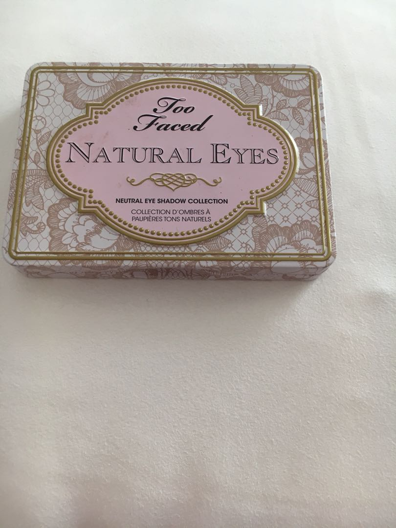 "Too faced ""natural eyes"""