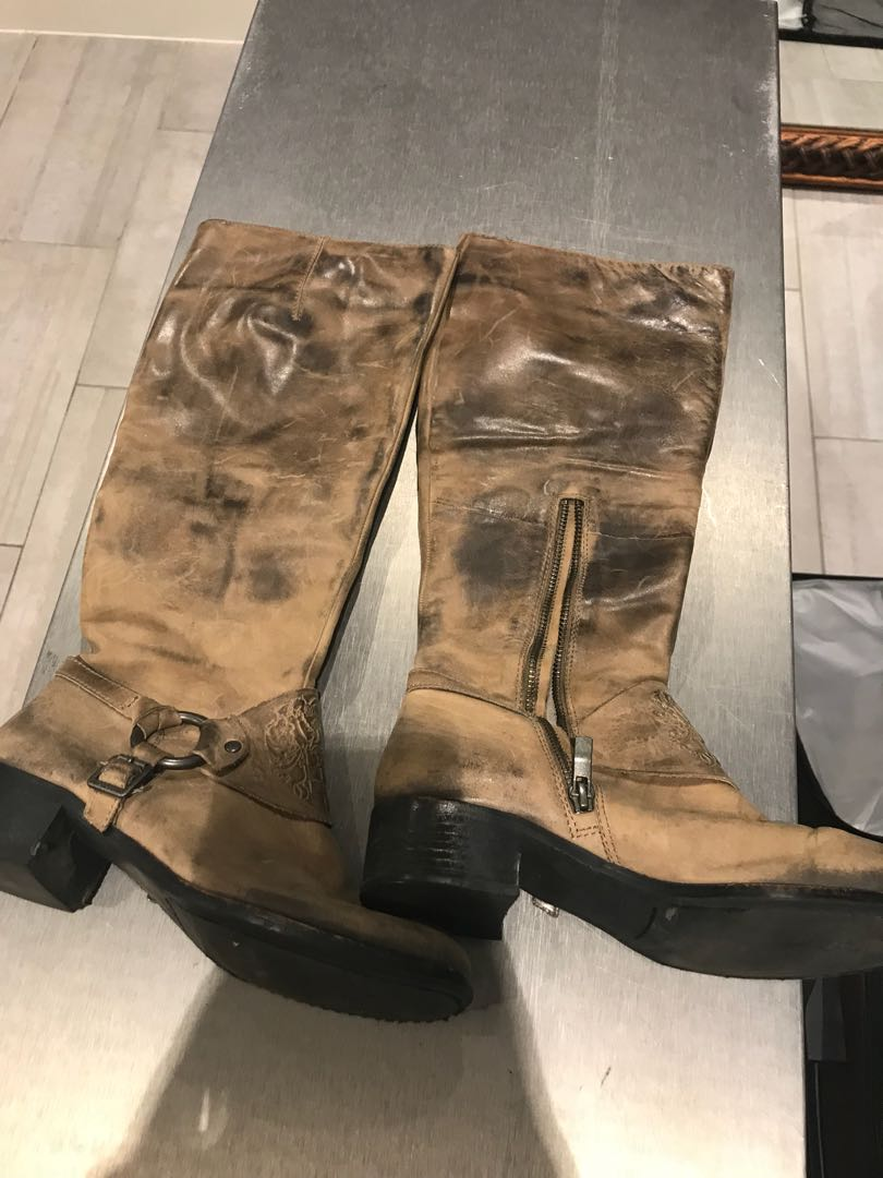 Vince Camuto rustic boot