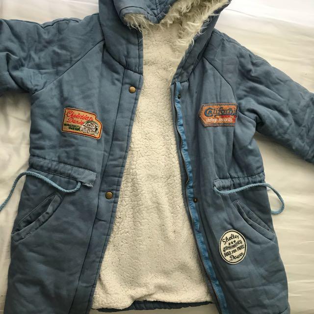 Wool lining jacket