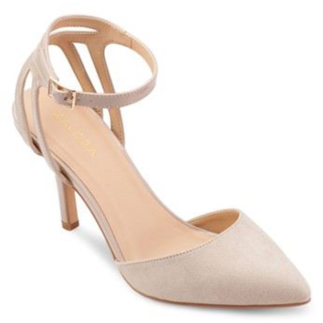 Zalora High Heel Pumps in Nude