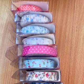 Cloth Washi Tapes