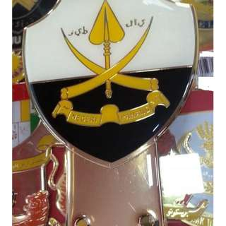 Pahang Emblem Badge Gold Plated