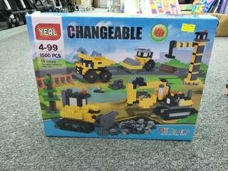 Lego like toys (blocks and bricks)