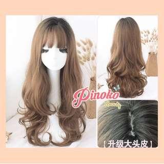 Wig hairclip pinoko kimiko
