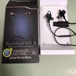 Plantronics Backbeat Go 3 藍芽耳筒