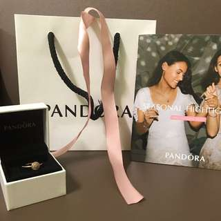 Pandora ring (rose gold)