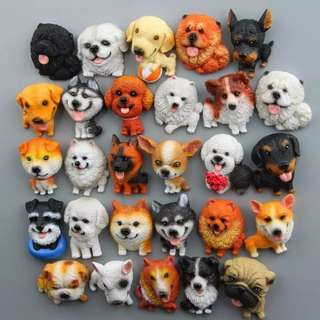 Dog Lovers / Fridge Magnet / Pet / Toys