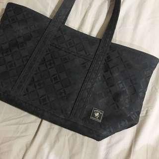 Porter鑽石格紋托特包通勤包手提包