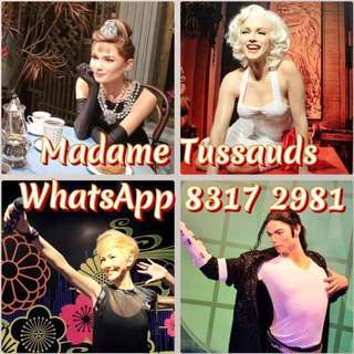 Madame Tussauds  Madame Tussauds Madame Tussauds Madame Tussauds Madame Tussauds Madame Tussauds