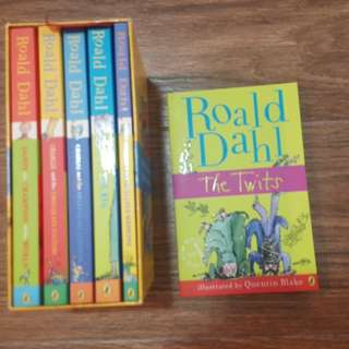 Ronald Dahl's story collection set (5+1 books)