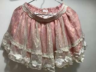 日本品牌 LizLisa 半裙