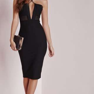 Misguided black dress