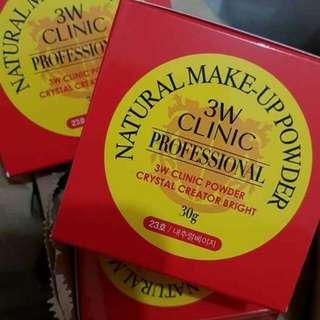 3w Make up natural powder
