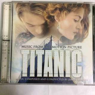 Cd 56a Titanic soundtrack