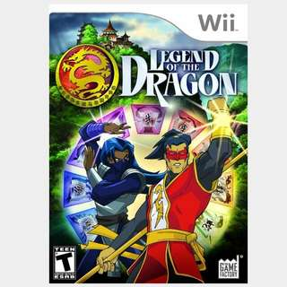 Legend Of The Dragon Nintendo Wii