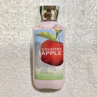 Bath and Body Works  COUNTRY APPLE Shea & Vitamin E Body Lotion