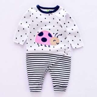 Cute dots baby boy jumpsuit
