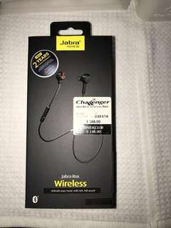 Lightly used Jabra Rox Wireless Earphones Ear sets headphones ear piece