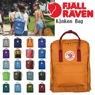 [INSTOCK] Fjallraven Kanken AUTHENTIC Bags