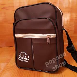 Herschel Synthetic Leather Sling Bag