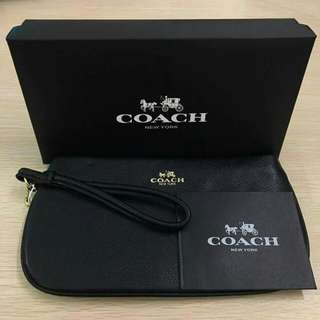High quality Coach wristlet