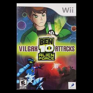 Ben 10 Alien Force Vilgax Attacks Nintendo Wii