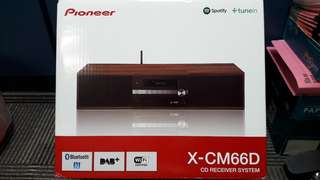 Pioneer CD Receiver System X-CM66D