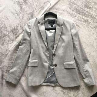 Jcrew Grey Blazer