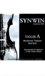 Selling Synwin brand violin strings
