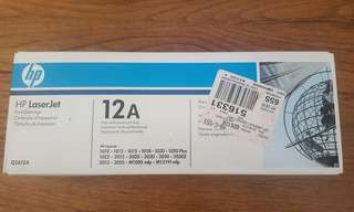 BRAND NEW HP Laserjet 12A Print Cartridge