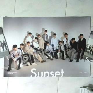 Seventeen sunset poster director's cut