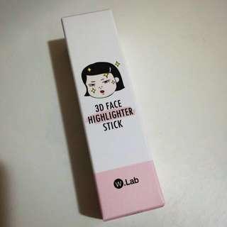 👉🏻👉🏻👉🏻清貨🇰🇷W.Lab❣3D Face Highlighter Stick