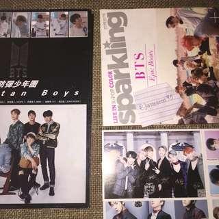BTS SPARKLING & 2016 PHOTOBOOK