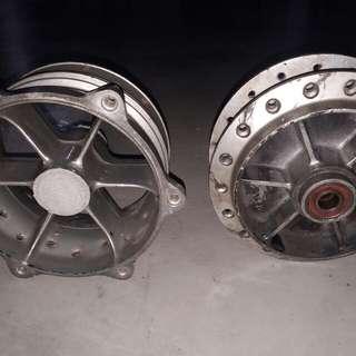 Krr Kawasaki spoke rim hubs.