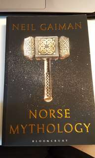 Norse mythology by Neil Gailman