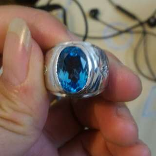Batu blue topaz