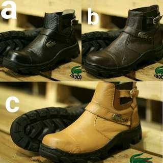 Sepatu boots crocodile sz 39_43