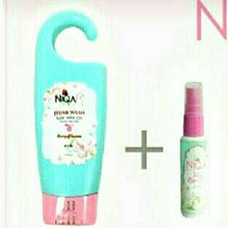 NIQA WASH only 350ml (without magic spray)