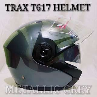 TRAX T617 METALLIC GREY *PSB APPROVED